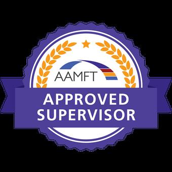 AAMFT Approved Supervisor Badge